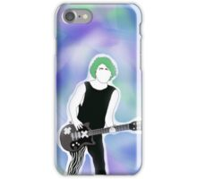 5SOS Michael Clifford Outline Drawing - Colored Background iPhone Case/Skin