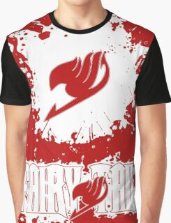 Fairy Tail Splash #2 Version (White) Graphic T-Shirt