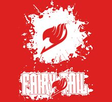 Fairy Tail Splash #2 Version (White) Unisex T-Shirt