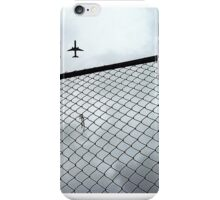 Escape on a Plane iPhone Case/Skin