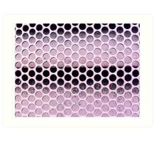 Grill with Circular Holes Art Print