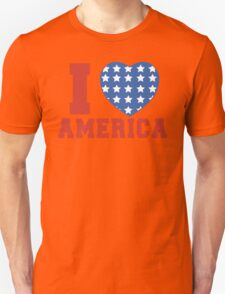 I Heart America Flag T-Shirt