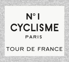 Tour de France Cycling Paris One Piece - Short Sleeve