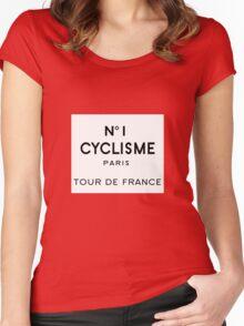 Tour de France Cycling Paris Women's Fitted Scoop T-Shirt