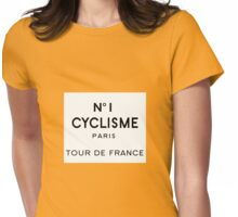 Tour de France Cycling Paris Womens Fitted T-Shirt