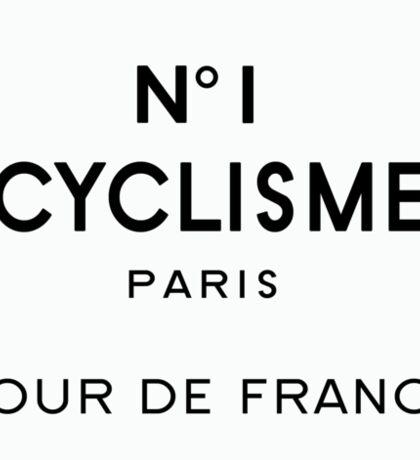 Tour de France Cycling Paris Sticker