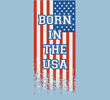 Born In The USA Flag Unisex T-Shirt