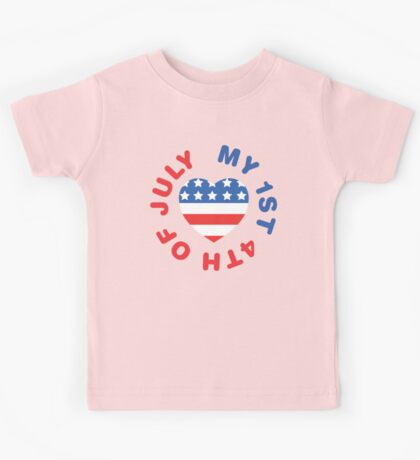 My 1st 4th Of July Kids Tee