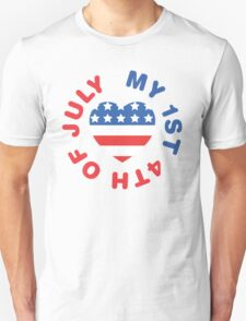 My 1st 4th Of July T-Shirt
