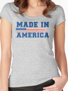 Made In America Women's Fitted Scoop T-Shirt