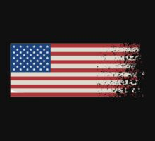 America Graffiti Flag by CarbonClothing