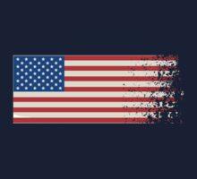 America Graffiti Flag Kids Tee
