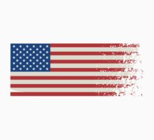 America Graffiti Flag One Piece - Long Sleeve