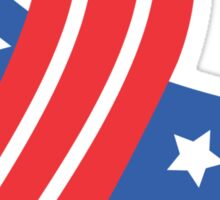 USA Ribbon 4th of July Sticker