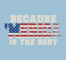 Because 'Merica Is The Best Kids Clothes