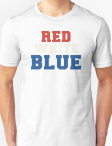 Red, White & Blue USA T-Shirt