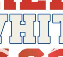 Red, White & Bacon Sticker