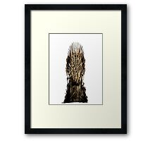 Game of Thrones - The Iron Throne Framed Print
