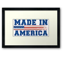 Made In America Framed Print