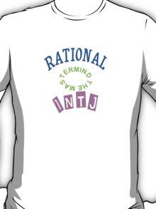 INTJ Rational personality type T-Shirt