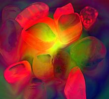 Glowing stones by sarnia2