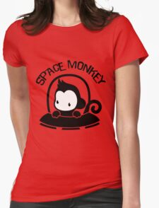 Space Monkey Womens Fitted T-Shirt