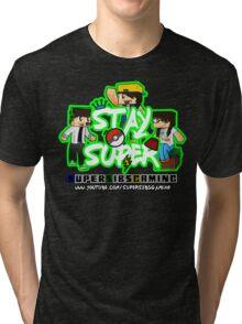 Stay Super! - SuperSibsGaming Tri-blend T-Shirt