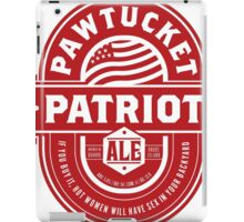 Pawtucket Patriot Ale iPad Case/Skin