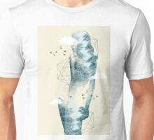 Tree line facet Unisex T-Shirt