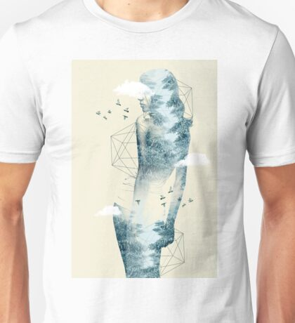 Tree line facet Unisex T-Shirt