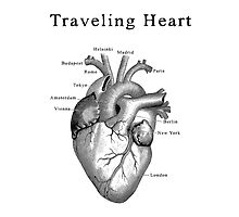 Traveling Heart by henribanks
