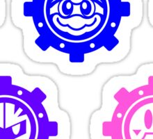 Robobot Gears Sticker Set Sticker