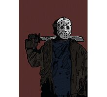 You're doomed, you're all doomed! Jason Vorhees Photographic Print