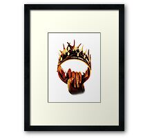 Game of Thrones - Crown Framed Print