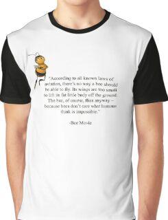 Bee Movie Graphic T-Shirt