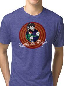 Daithi De Nogla 1930's Cartoon Character Tri-blend T-Shirt