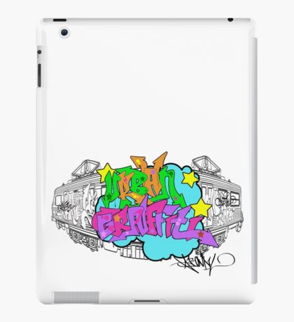 Urban Graffiti iPad Case/Skin