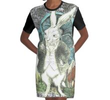Magic Forest Graphic T-Shirt Dress