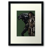 Alien or Predator? Framed Print