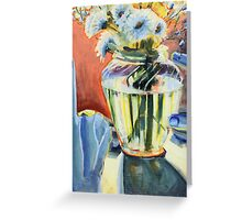 Floral Refraction Greeting Card