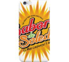 Sabor de Soledad iPhone Case/Skin