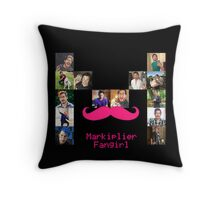 Markiplier Fangirl Collage Throw Pillow