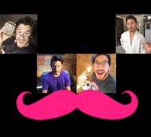 Markiplier Fangirl Collage Sticker