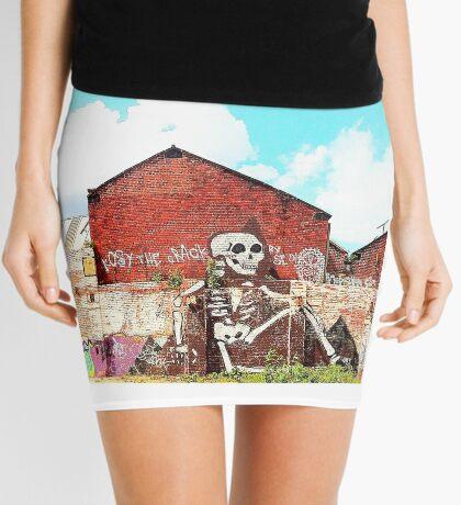 Wall Skeleton Mini Skirt