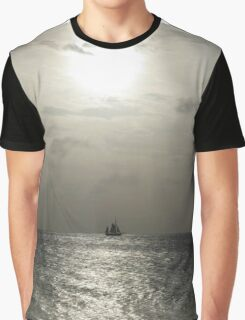 Sailboat on the Water Graphic T-Shirt