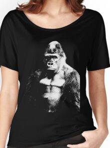 SAVE THE MOUNTAIN GORILLA Women's Relaxed Fit T-Shirt