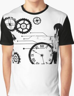 Steins;Gate - Kurisu Makise Trapped in Time Graphic T-Shirt