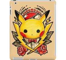 Pikachu Flash  iPad Case/Skin