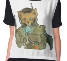 Space Pirate Fox Chiffon Top