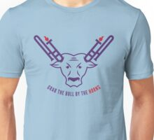 Grab The Bull By The Horns Unisex T-Shirt